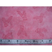 Gloves, pink on pink b/g by Classic Cottons
