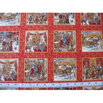 Dickens Christmas by Fabric Freedom #286-5