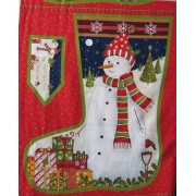 Christmas Stocking by Makower #419