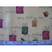 Gifts on yellow b/g