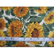 """Sunflower Farm"" by VIP on cream b/g 1012/V1521-E"