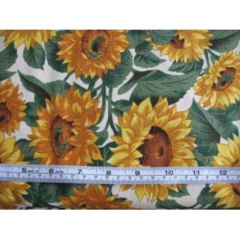 """Sunflower Farm"" by VIP on cream b/g 1012/V1521-E"