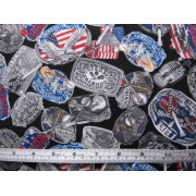 """Rock Legends"", buckles by Benartex CMA-Buckles-C5883"