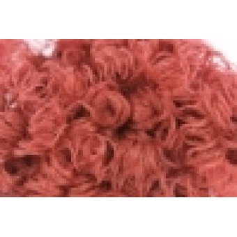 Doll hair - Rustic Red