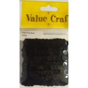 Sequin Trim - black