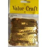 Sequin Trim - gold