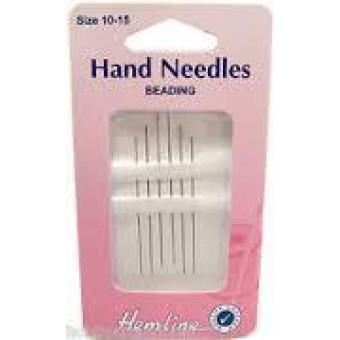 Hand Needles - Beading 10-12