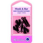 Hook & Bar - black