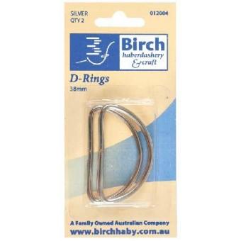 D Rings - 25mm