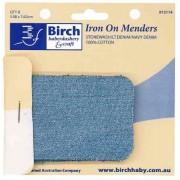 Iron-On Menders - Stonewash/LtDenim/Denim