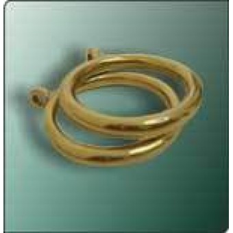 25mm Gold Curtain Ring
