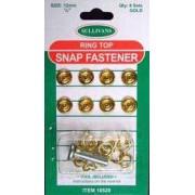 Snap Fastener - Ring Top - gold