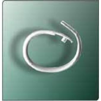 Split Ring - Oval White