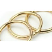 Rings - Brass Plated Metal Ring