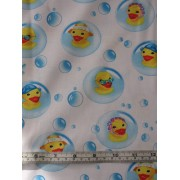 """Rubber Ducky Bubble"" by Michael Miller Fabrics #CX3608"