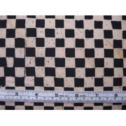 """Tropica"", cream & black squares by Michael Miller"