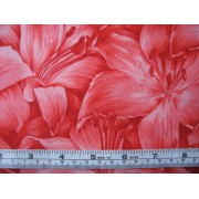 """Rainbow Lilly"", red by Fabric Freedom #481-2"