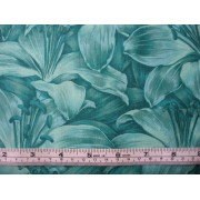"""Rainbow Lilly"", emerald by Fabric Freedom #481-7"