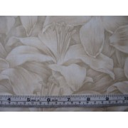 """Rainbow Lilly"", cream by Fabric Freedom #481-10"