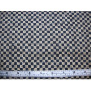 "1/4"" check, navy/beige, Y6980"