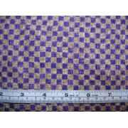 "1/4"" check, cadbury purple/beige, Y698G"