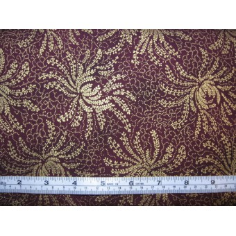 """Milvale Fernery"", made in Japan for K&K, K5111/burgundy"