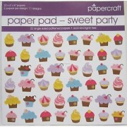 Papercraft - Paper Pad - Sweet Party