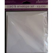 Card & Envelope set - square
