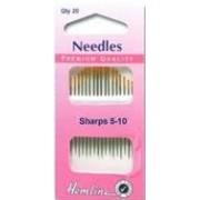 Hand Needles - Sharps 5-10